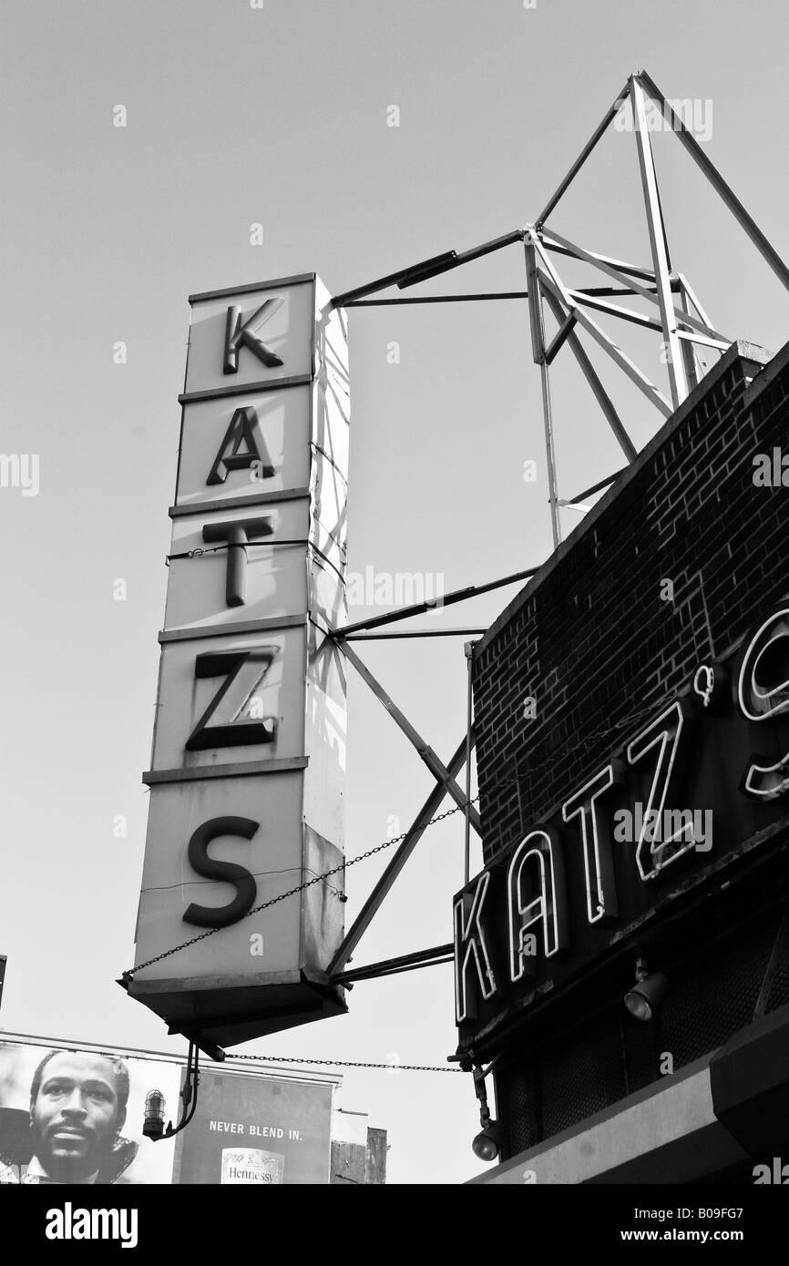 Katzs katz diner New York Unites States of America. - Stock Image