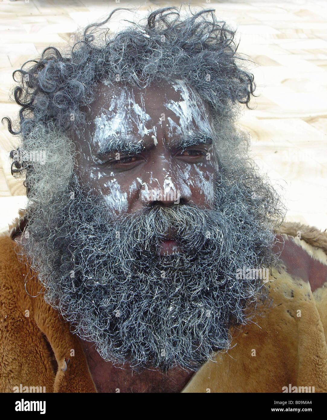 Aborigine - Stock Image