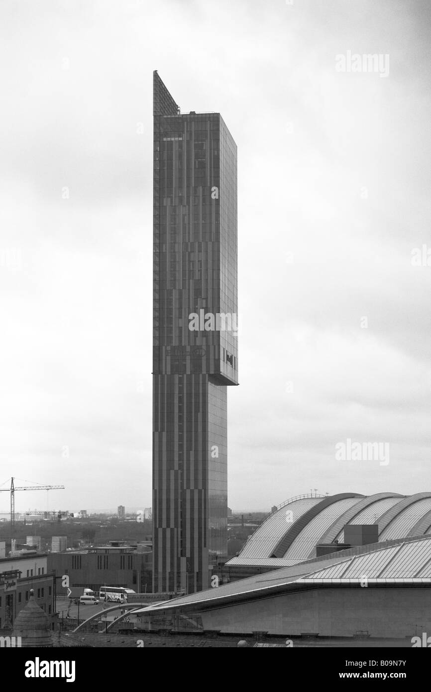 Beetham Hilton Tower Deansgate Manchester UK - Stock Image