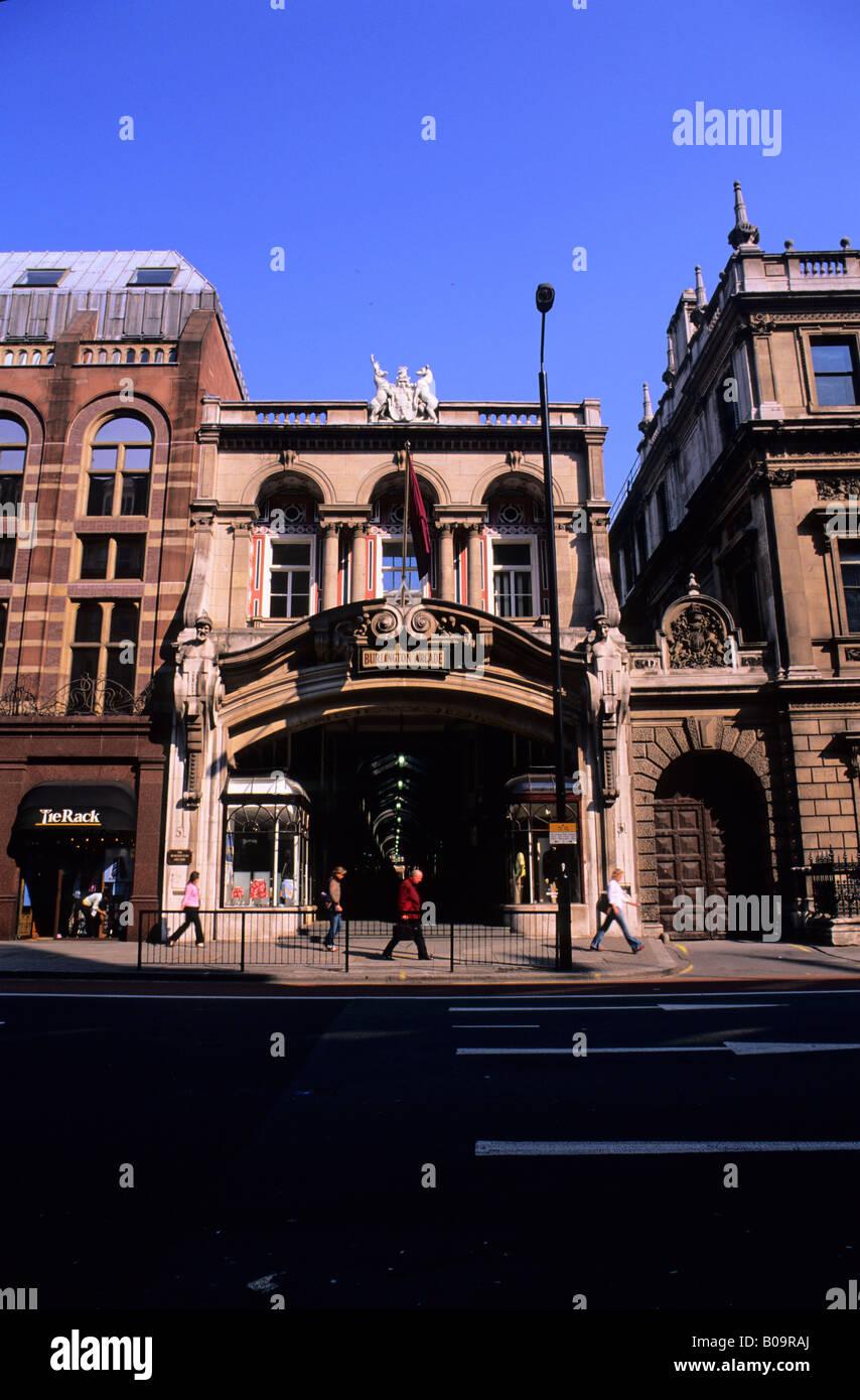 Burlington Arcade, City of Westminster, London, England, UK - Stock Image