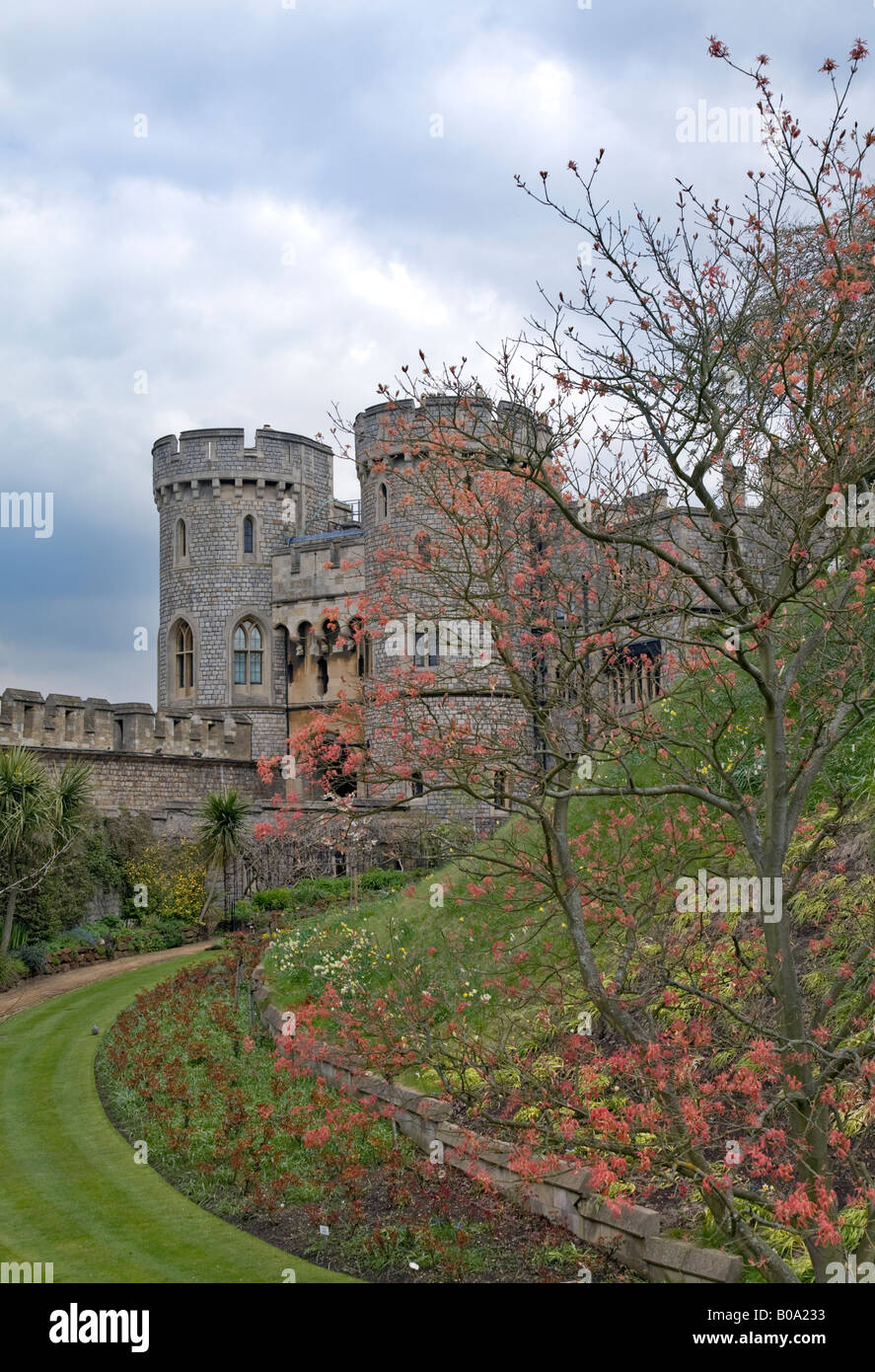 Windsor Castle, Berkshire, England - Stock Image