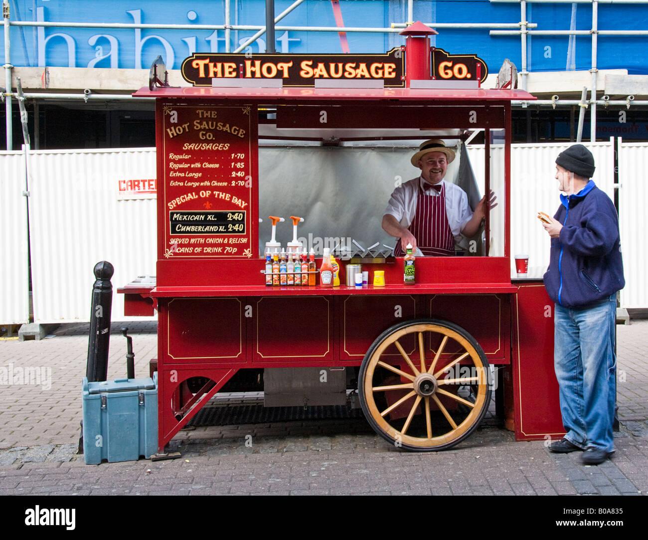 Hot Dog Stall Stock Photos & Hot Dog Stall Stock Images - Alamy
