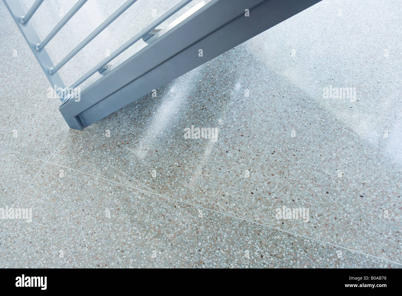 Bannister, cropped view - Stock Image