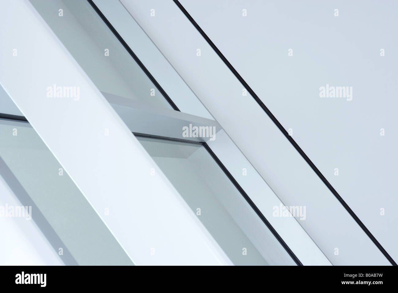 Architectural detail, cropped - Stock Image