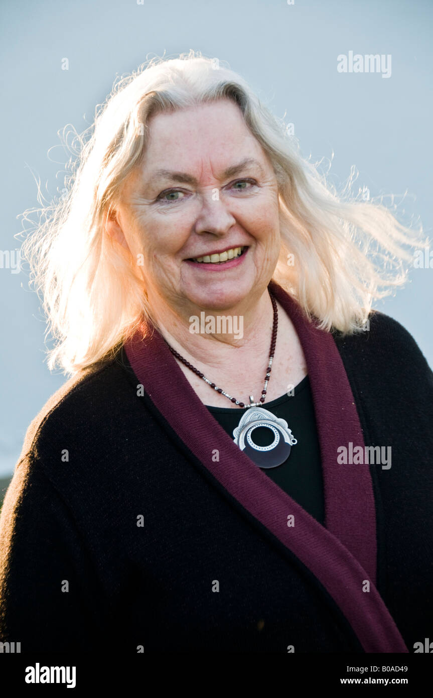 GILLIAN CLARKE the third National Poet of Wales - Stock Image