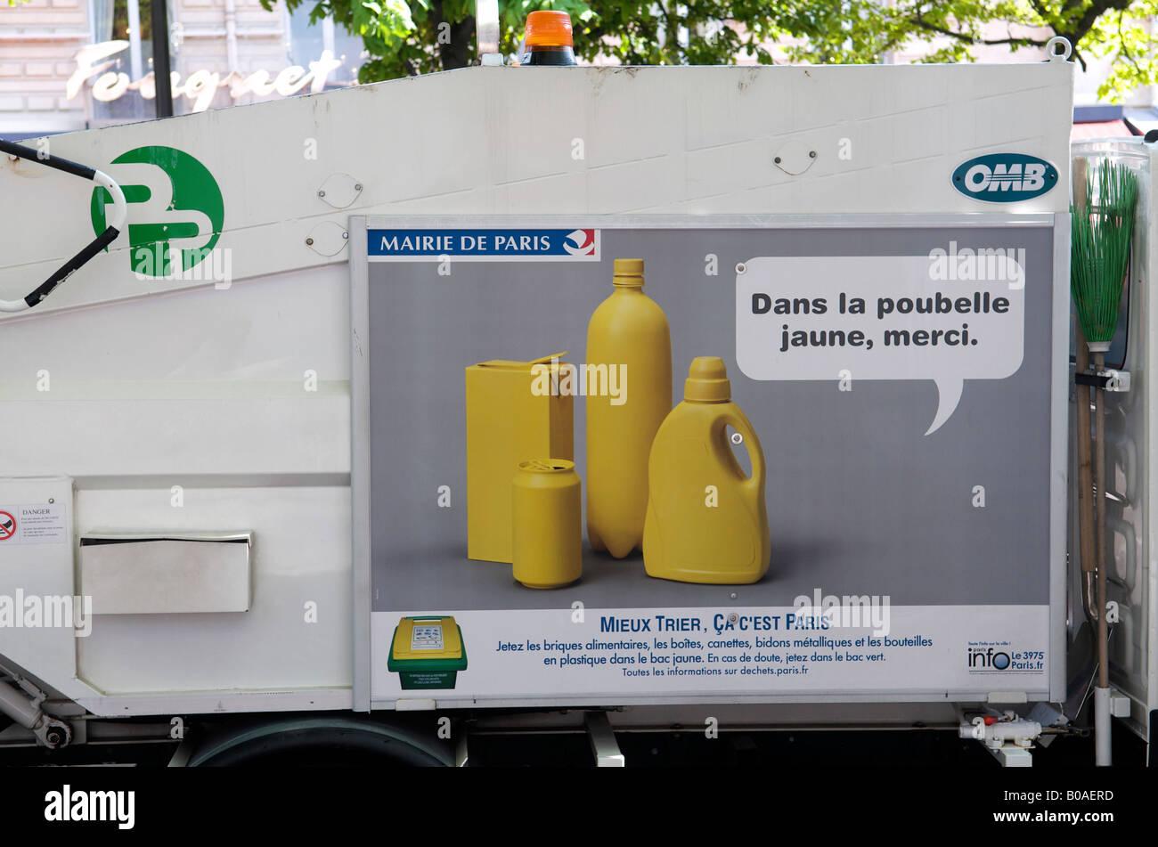 Recycling France Paris Stock Photos Recycling France Paris