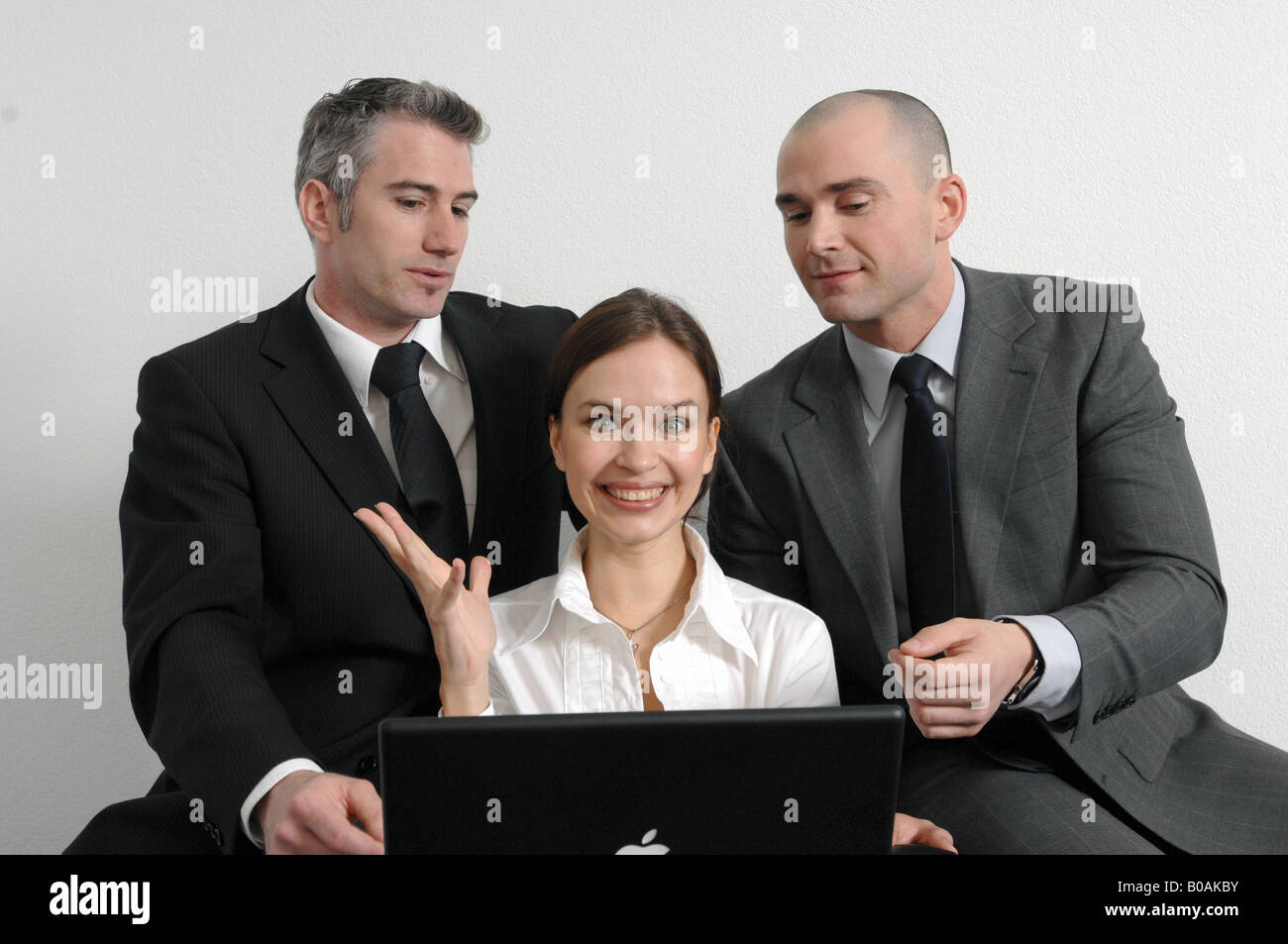 business team at work - Stock Image