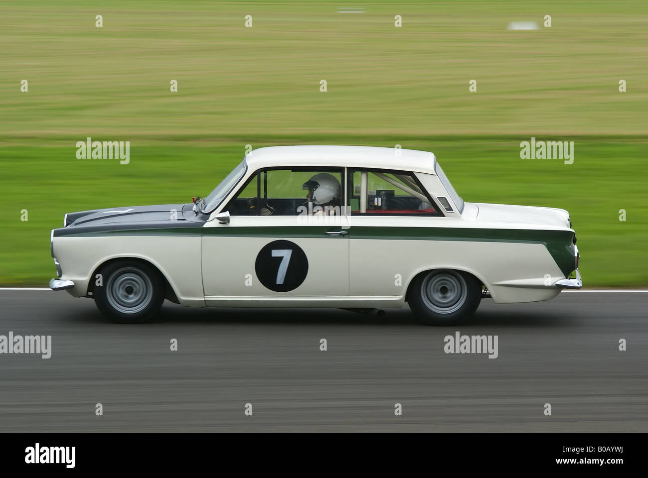 Classic Ford Lotus Cortina Stock Photo