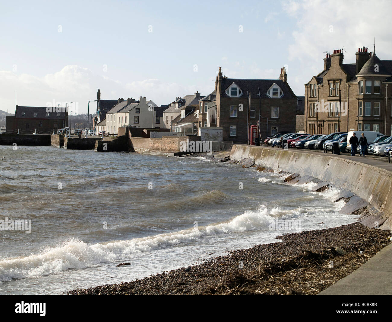 Broughty Ferry, Dundee, Tayside, Scotland - Stock Image