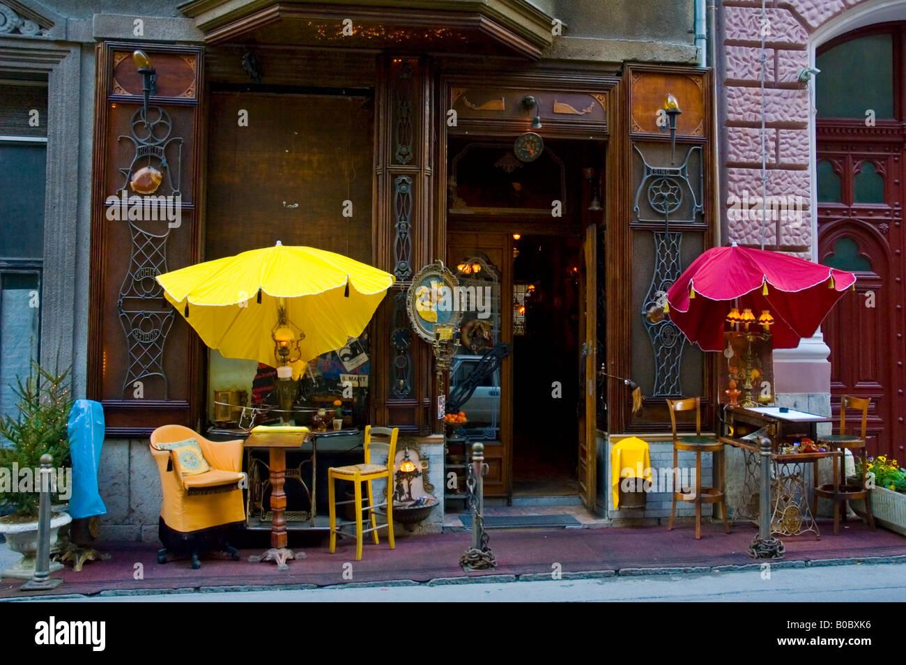 Zlatna Ribica bar in central Sarajevo Bosnia Hercegovina Europe - Stock Image