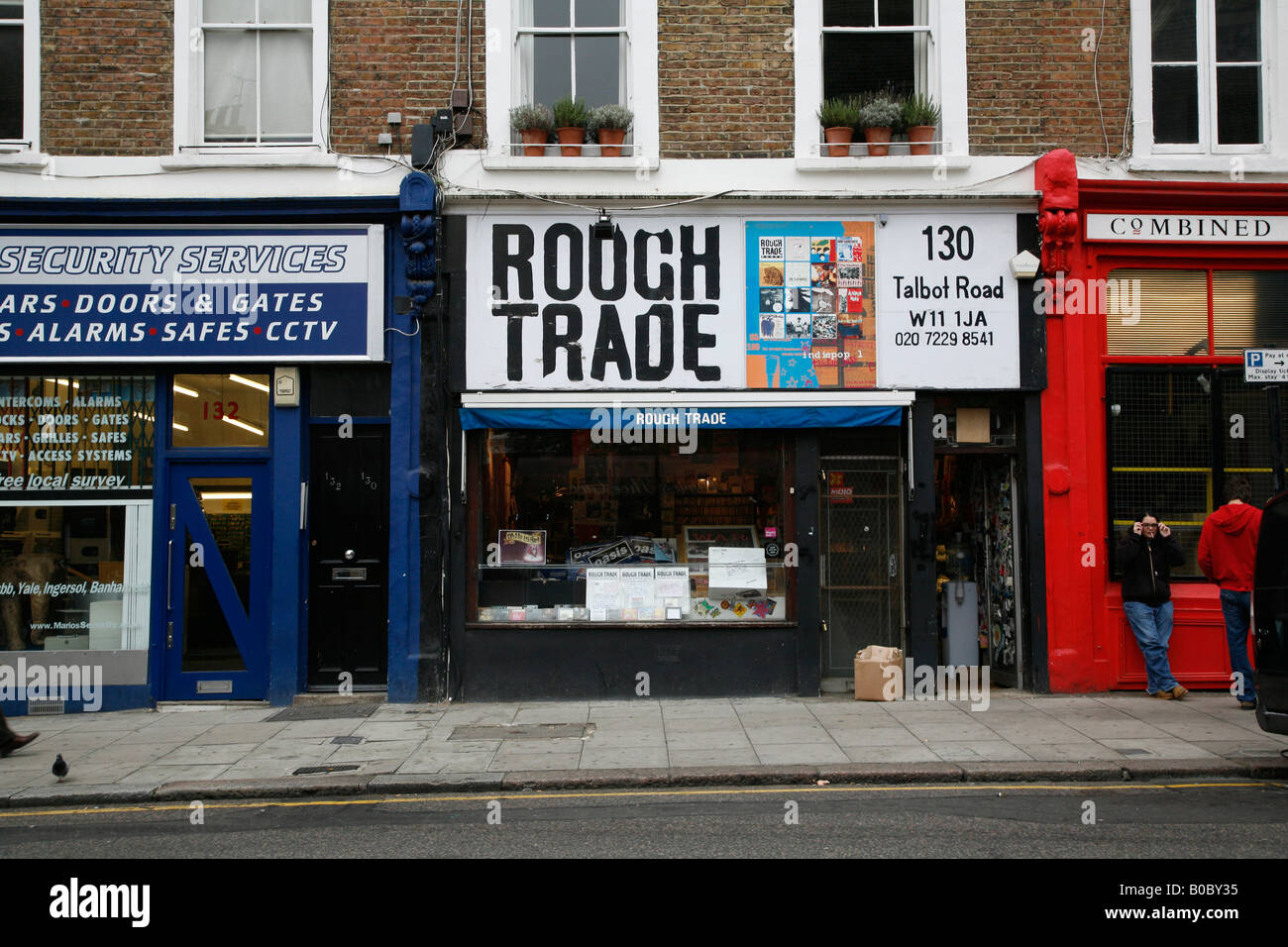 Rough Trade music shop on Talbot Road, Notting Hill, London - Stock Image