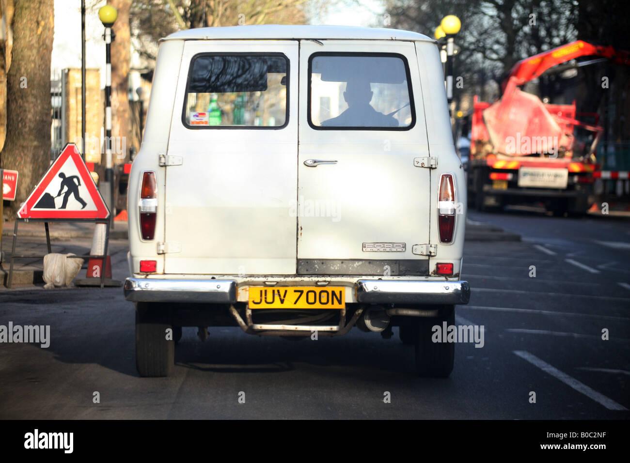 Ford Transit Van MKII - Stock Image