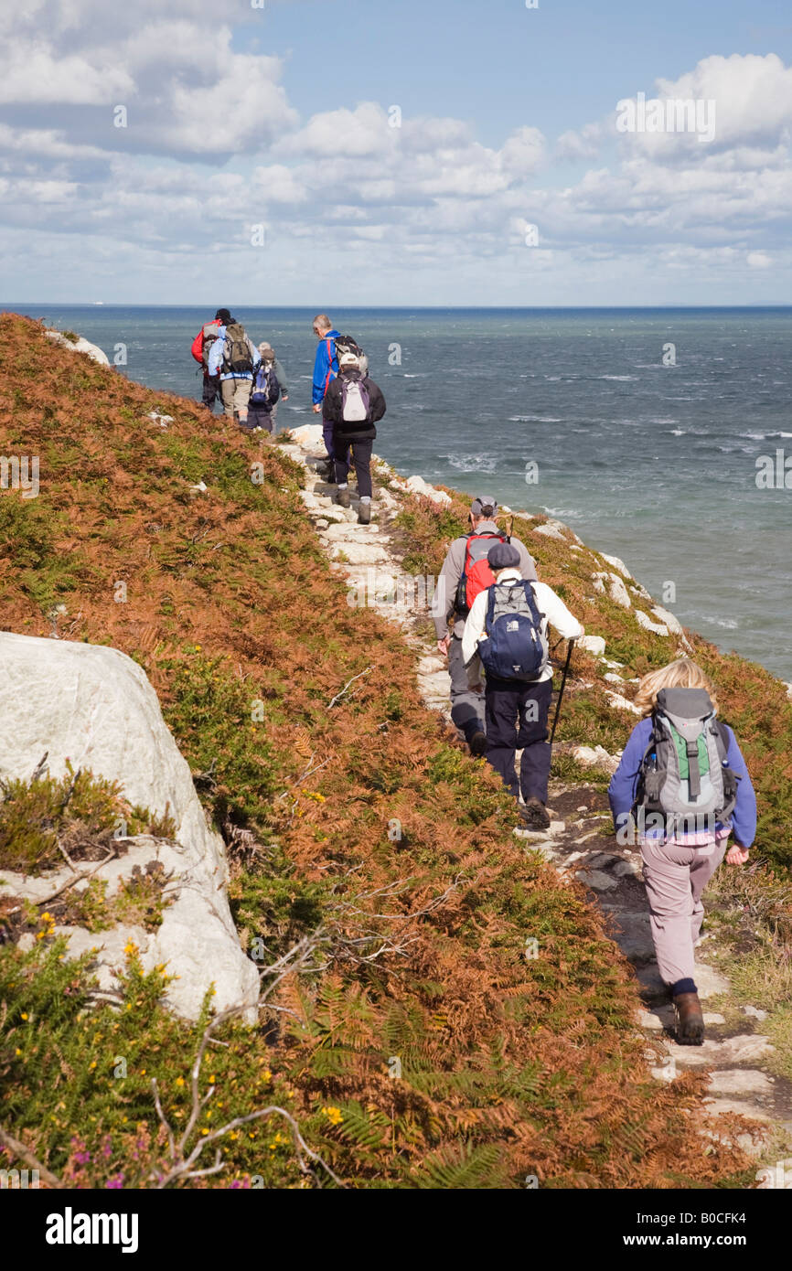 Holyhead Holy Island Anglesey North Wales UK. Group Of