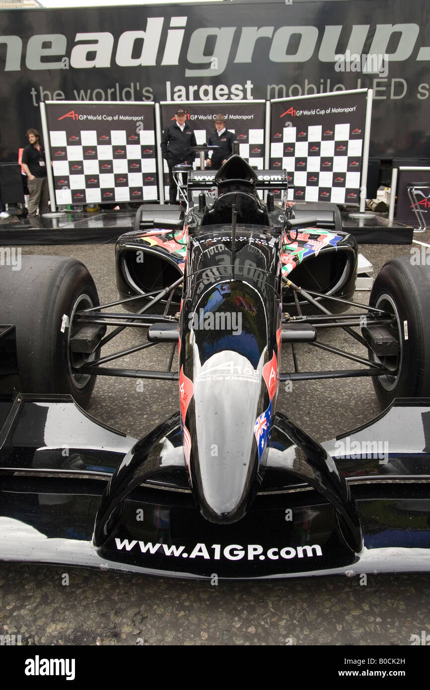 A1GP car in Regent Street London - Stock Image