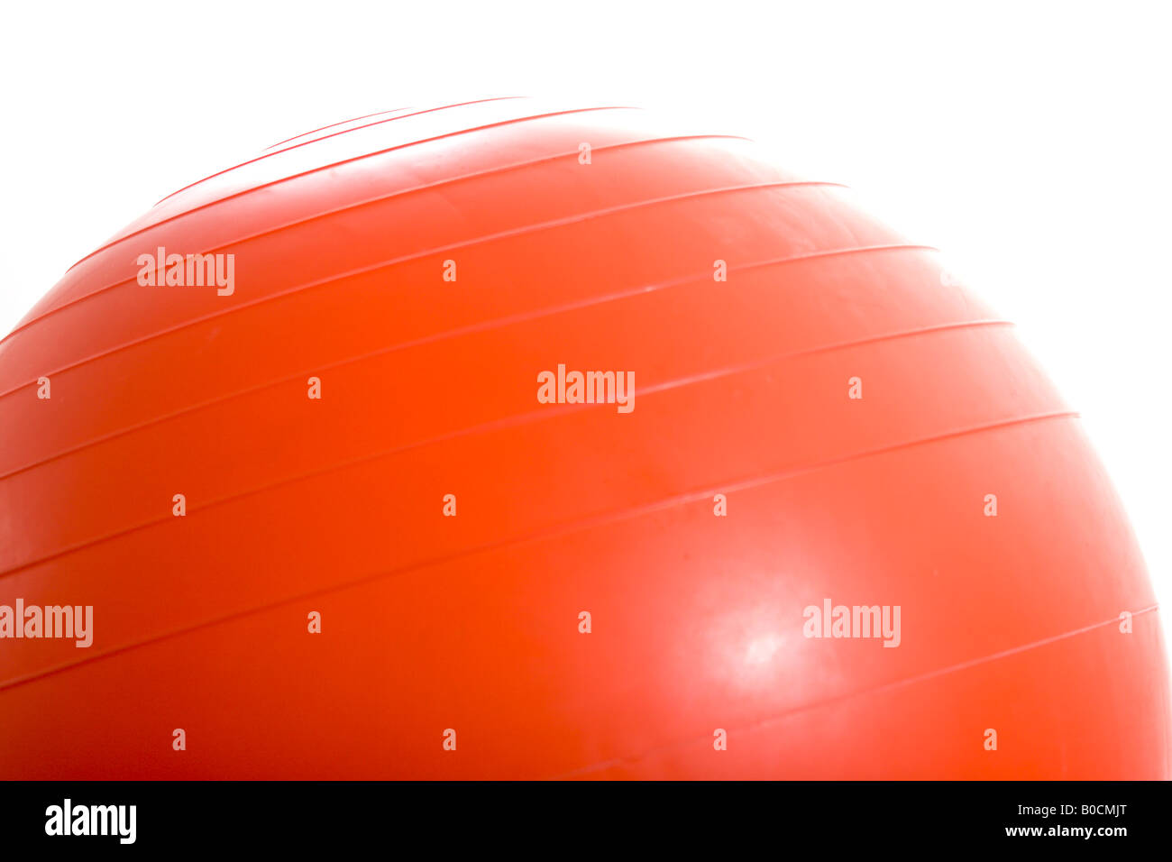 Exercise ball - Stock Image