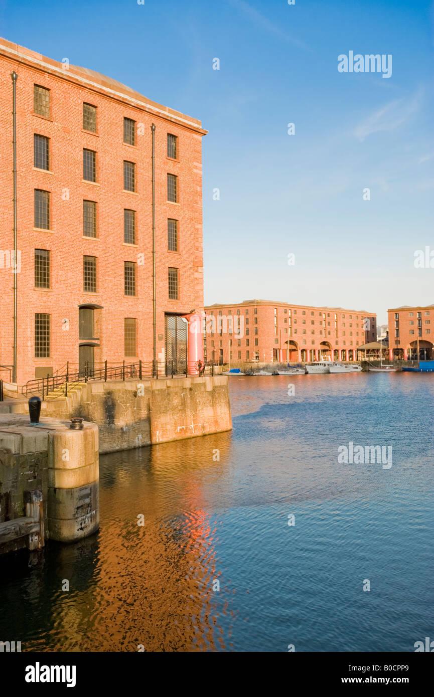 Albert Dock, Liverpool, England, UK. - Stock Image