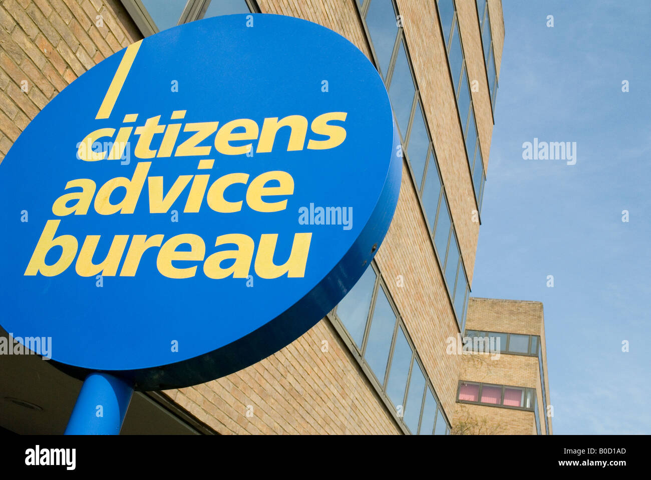 Citizens Advice Bureau - EDITORIAL USE ONLY - Stock Image