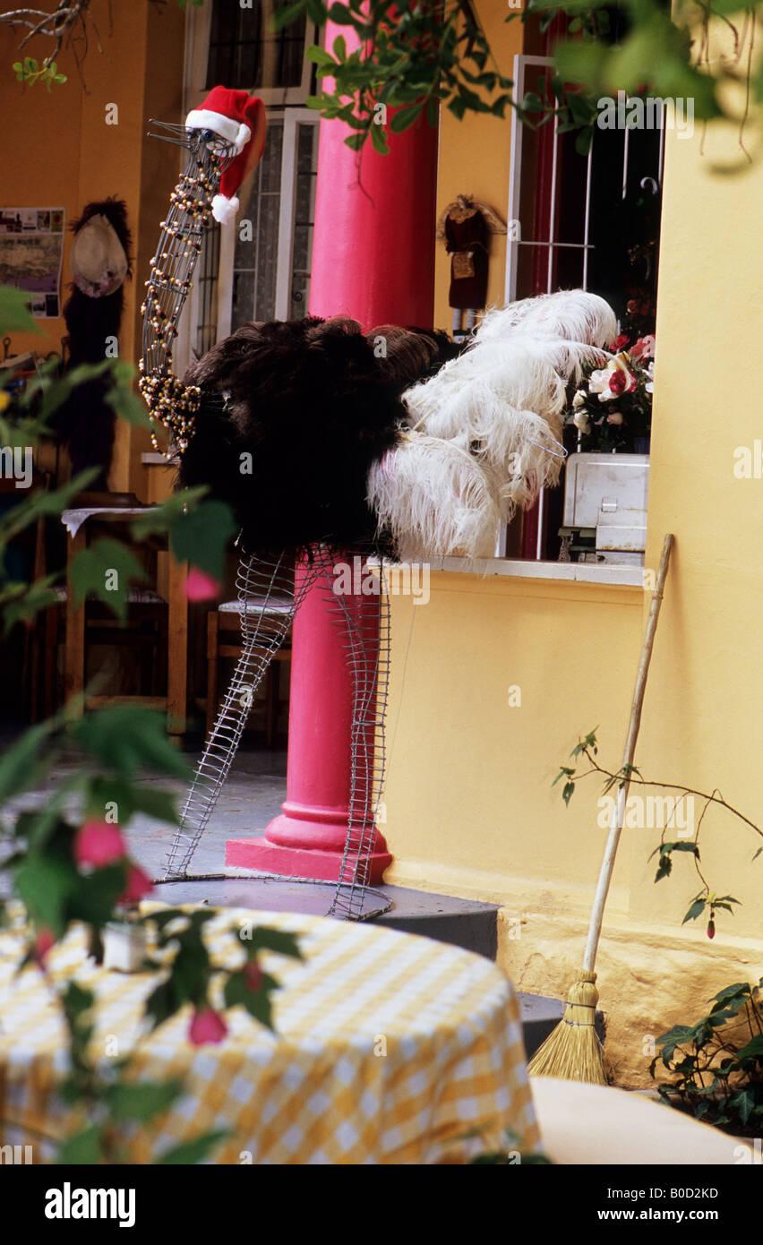 the birds restaurant scene