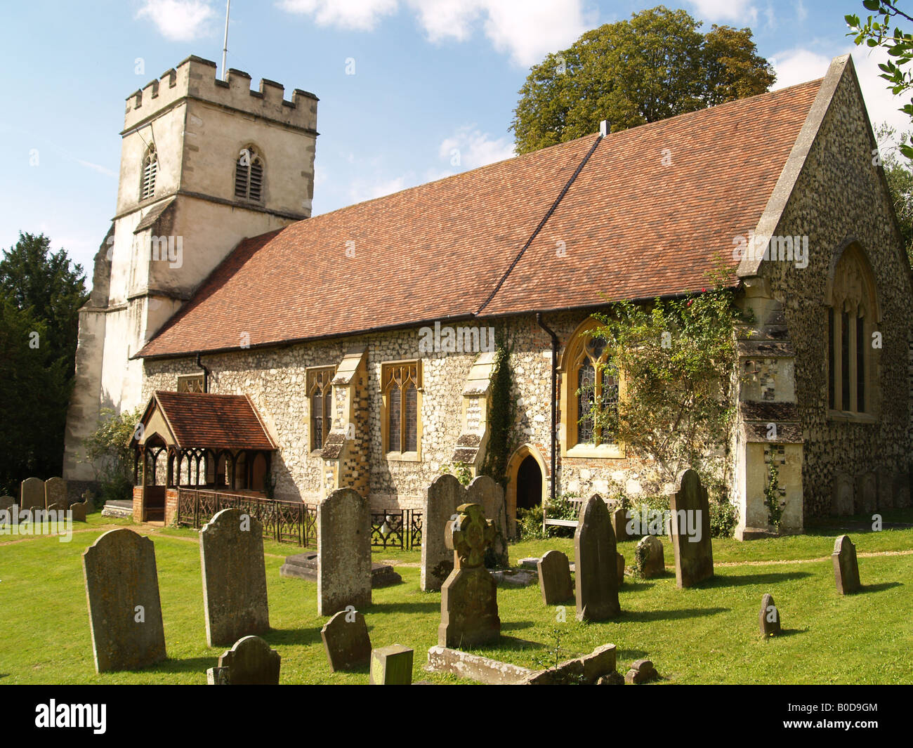 Church of St Peter and St Paul at Medmenham, Buckinghamshire Stock Photo