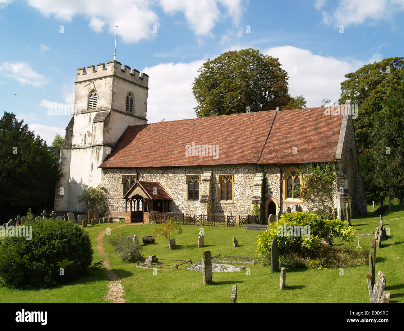 St Peter & St Paul Church Medmenham Buckinghamshire Stock Photo