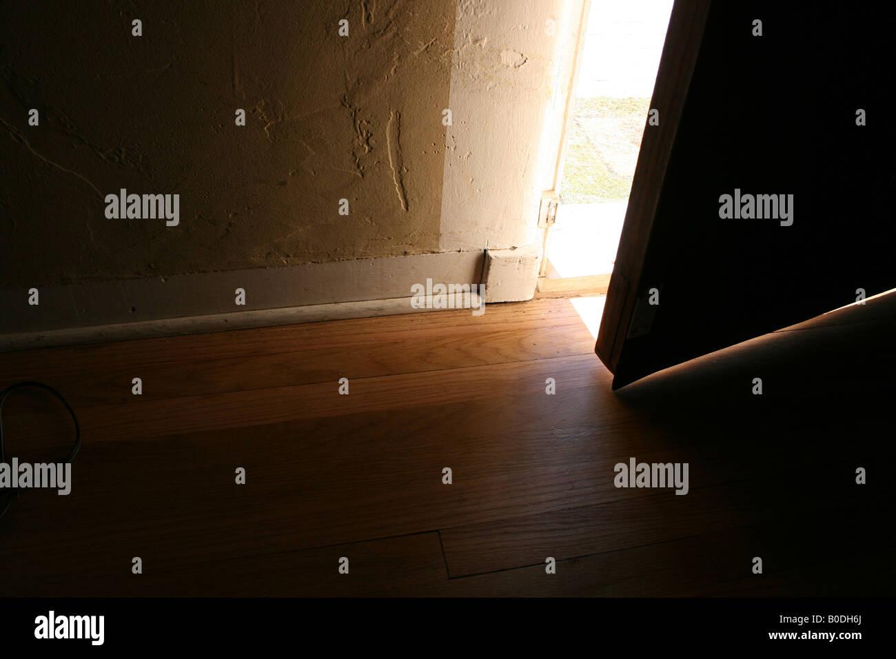 open door - Stock Image
