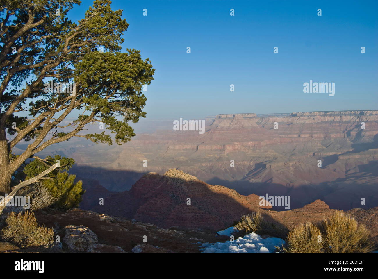 Sunrising Grand Canyon - Stock Image