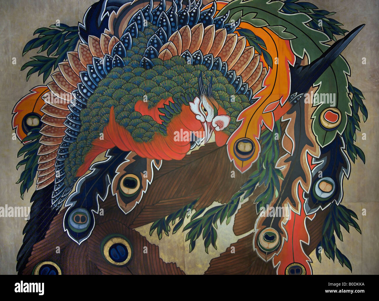 Phoenix Bird Painting High Resolution Stock Photography And Images Alamy