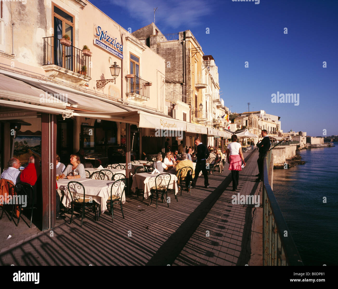 Waterside Restaurants Ortygia Or Ortigia Siracusa Or