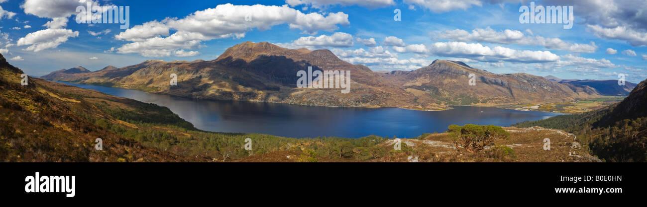 Loch Maree - Scottish Highlands - Stock Image
