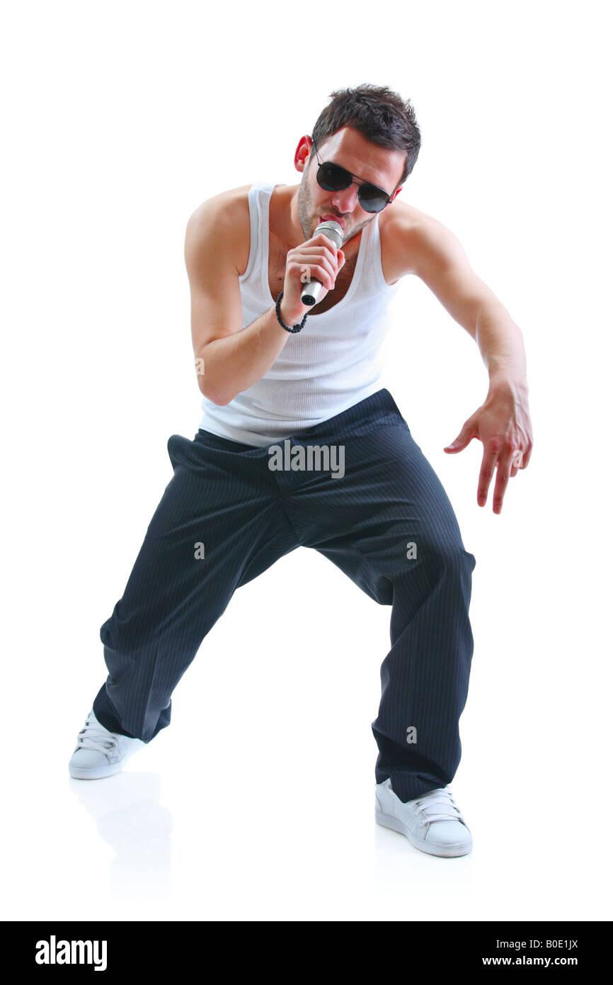 Hip-hop artist - Stock Image