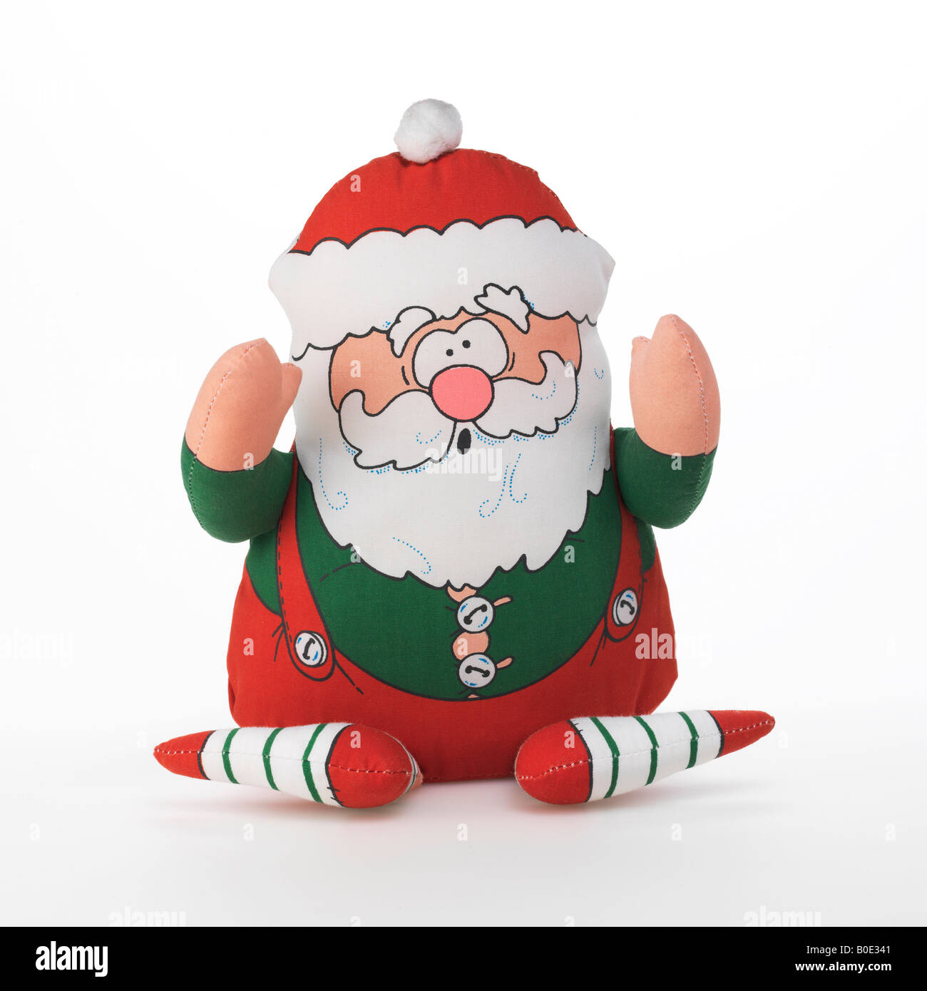 Santa Claus elf - Stock Image