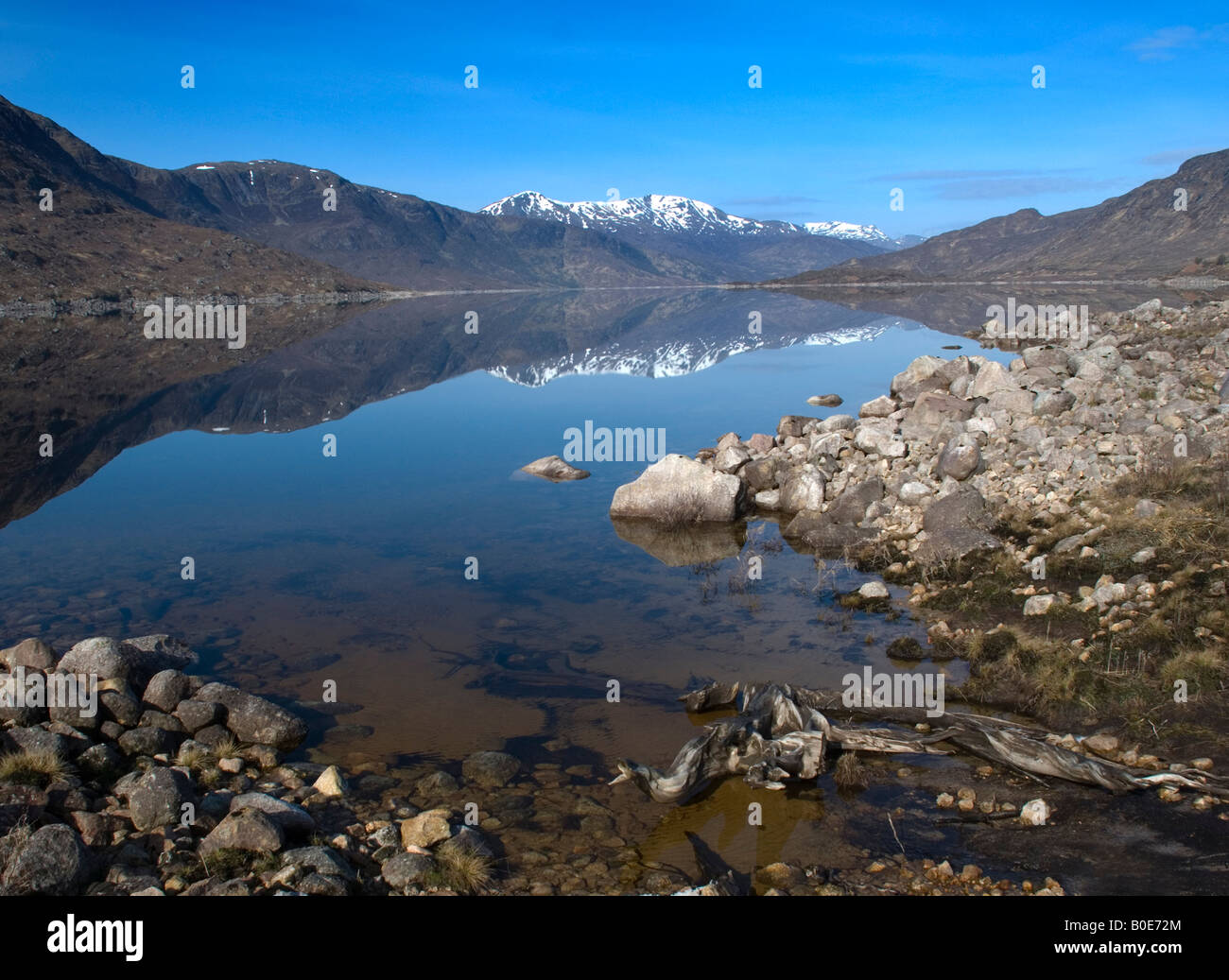 Loch Cluanie, Wester Ross, Scotland - Stock Image