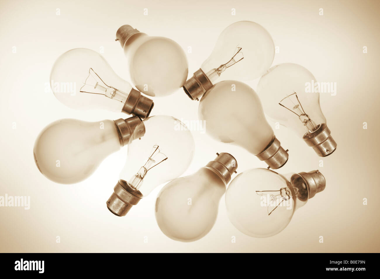 Clear and Frosted Light Bulbs Stock Photo: 17523457 - Alamy