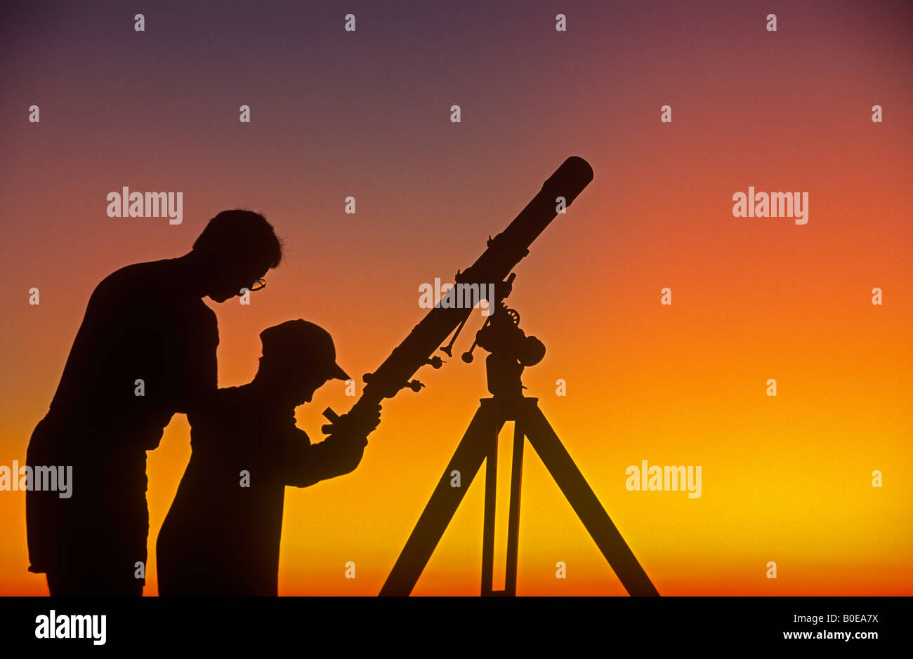 how to set up a telescope