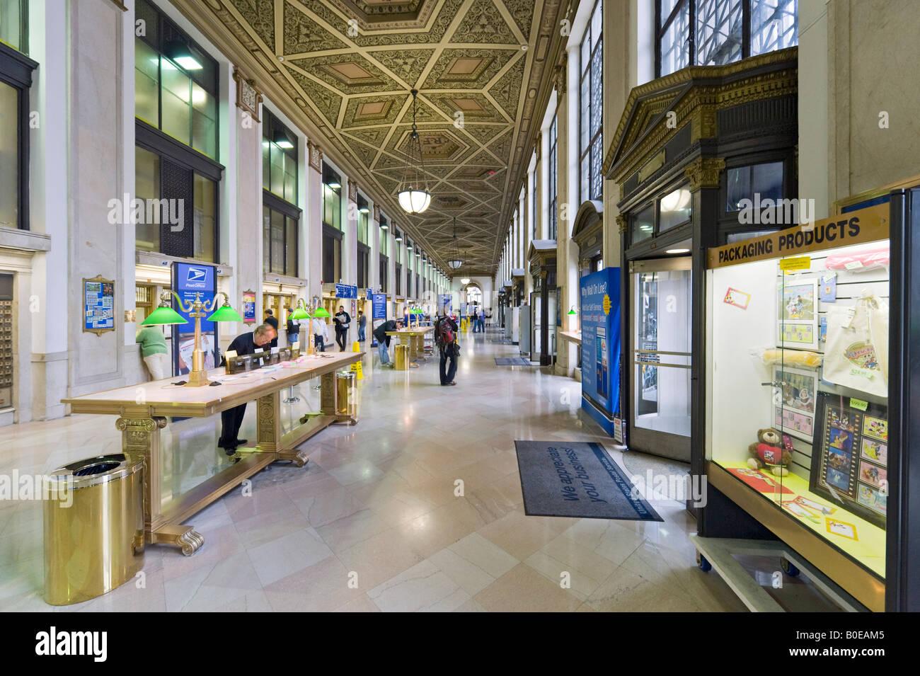general post office new york ny Stock Photo