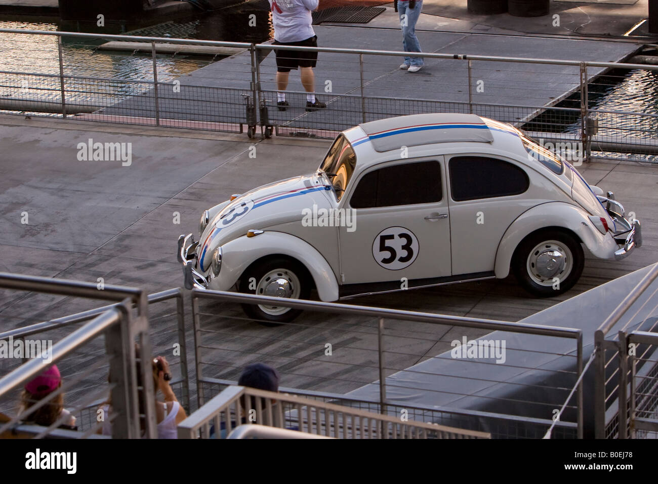 Herbie the Love Bug Volkswagen Car at Disney's Hollywood MGM Studios