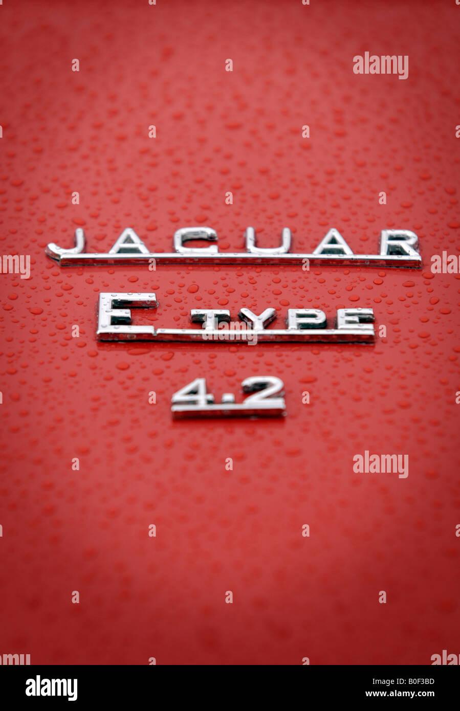 E Car Icon Stock Photos Images Alamy Volvo Pv444 Wiring Diagram Vintage Electrical Jaguar Type 42 Badge Image