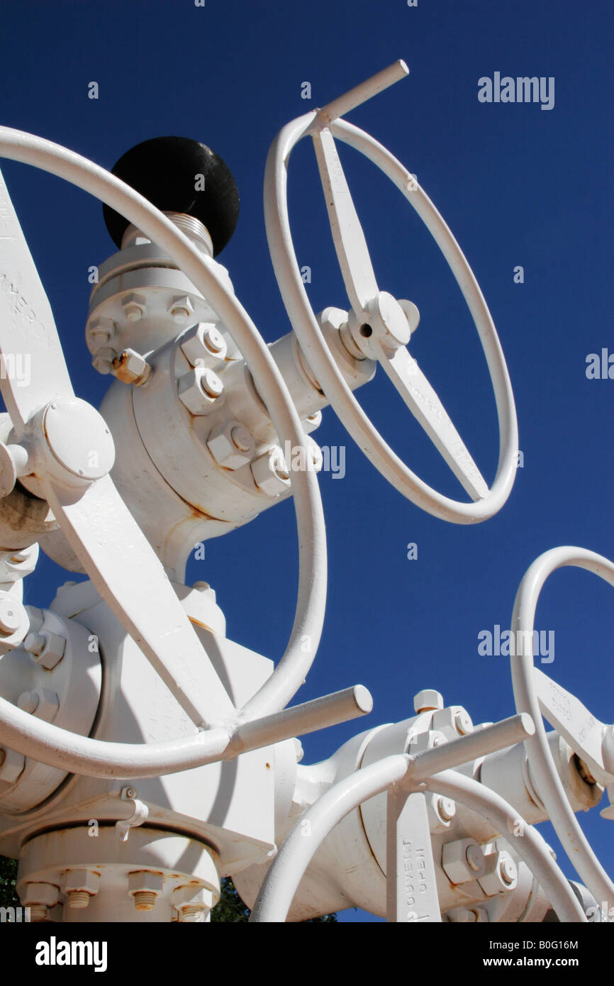 valves - Stock Image
