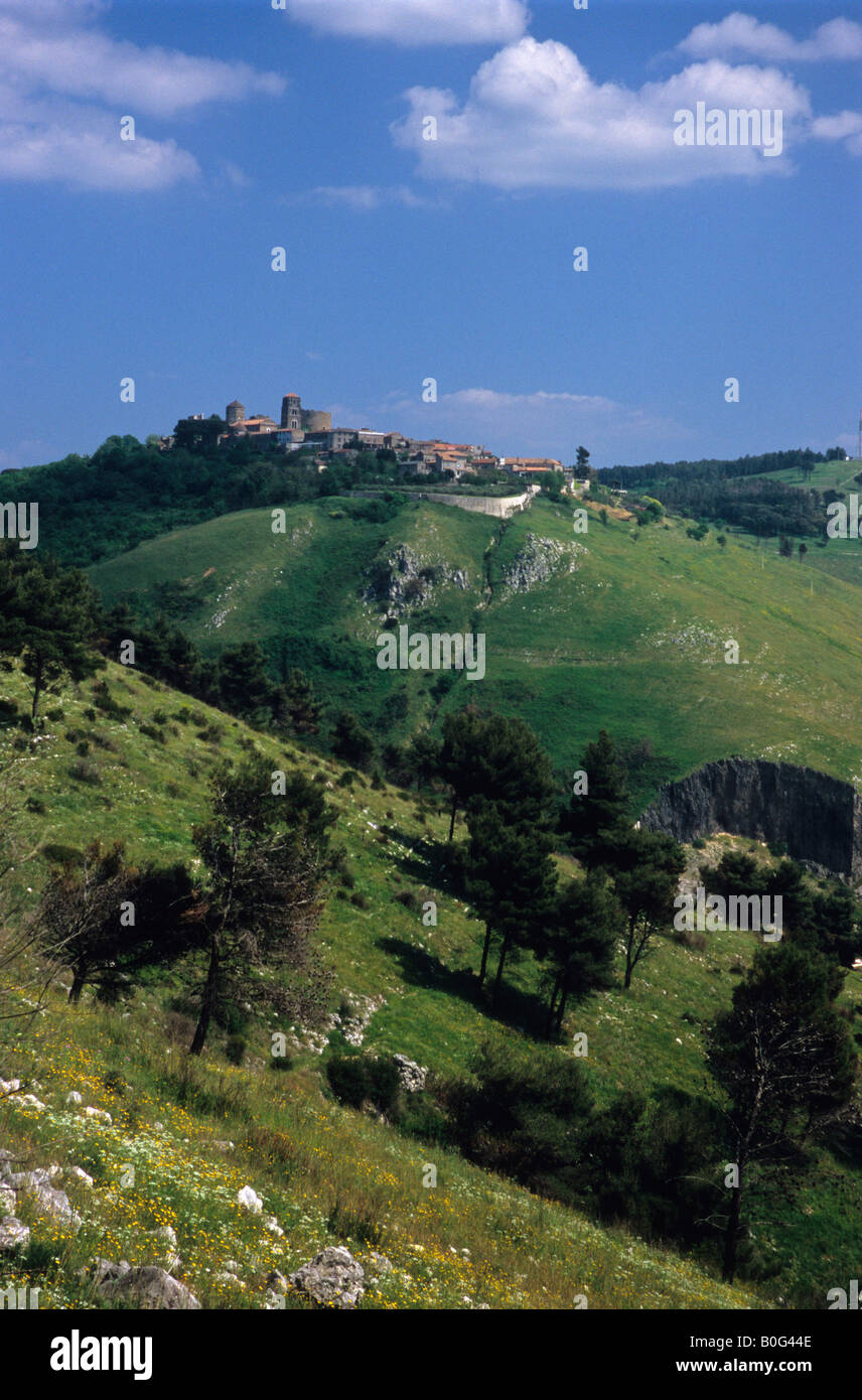 Casertavecchia, Province of Caserta, Campania, Italy Stock Photo