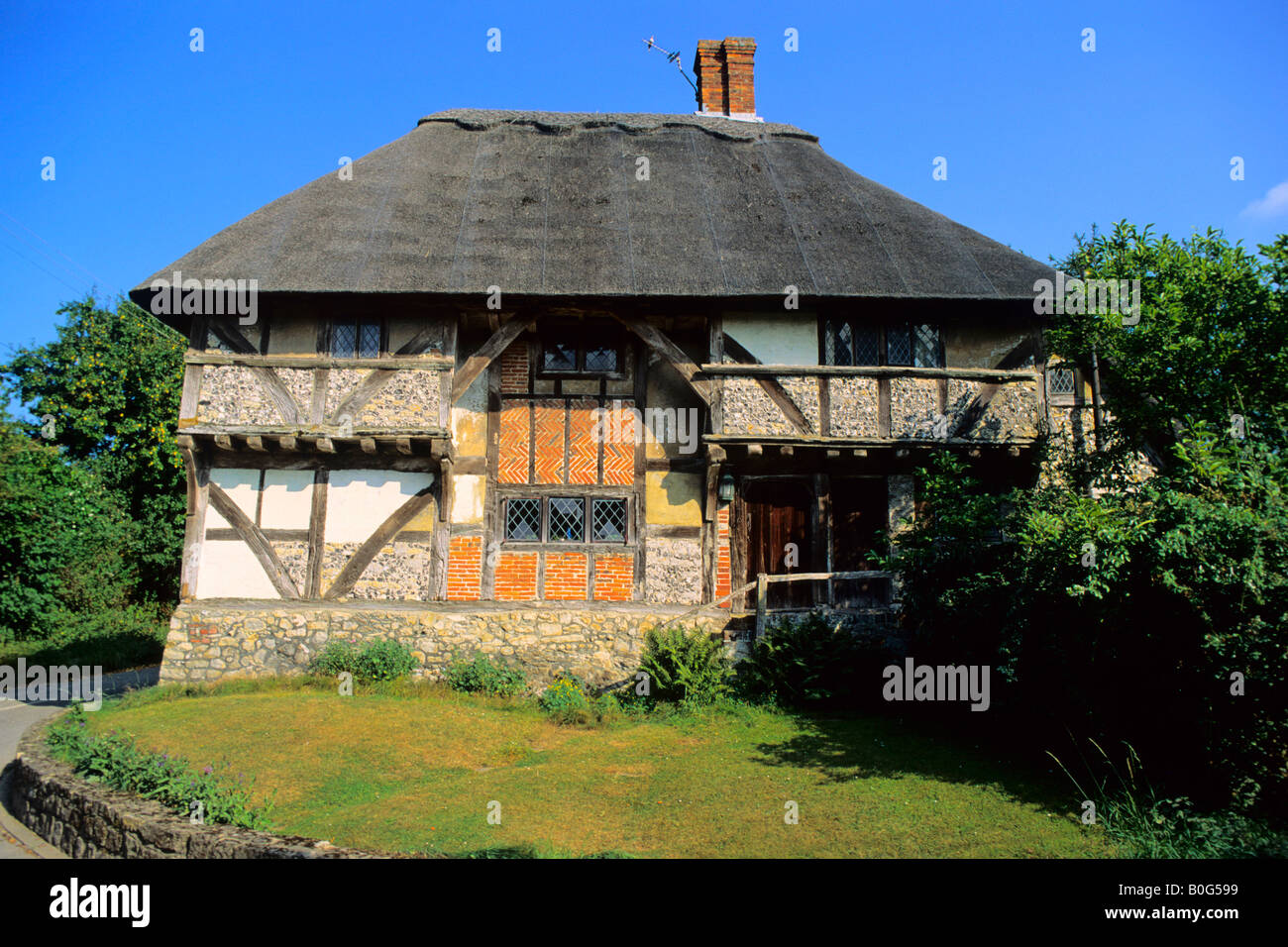 Yeomans House The Old Shop Bignor Sus England Uk
