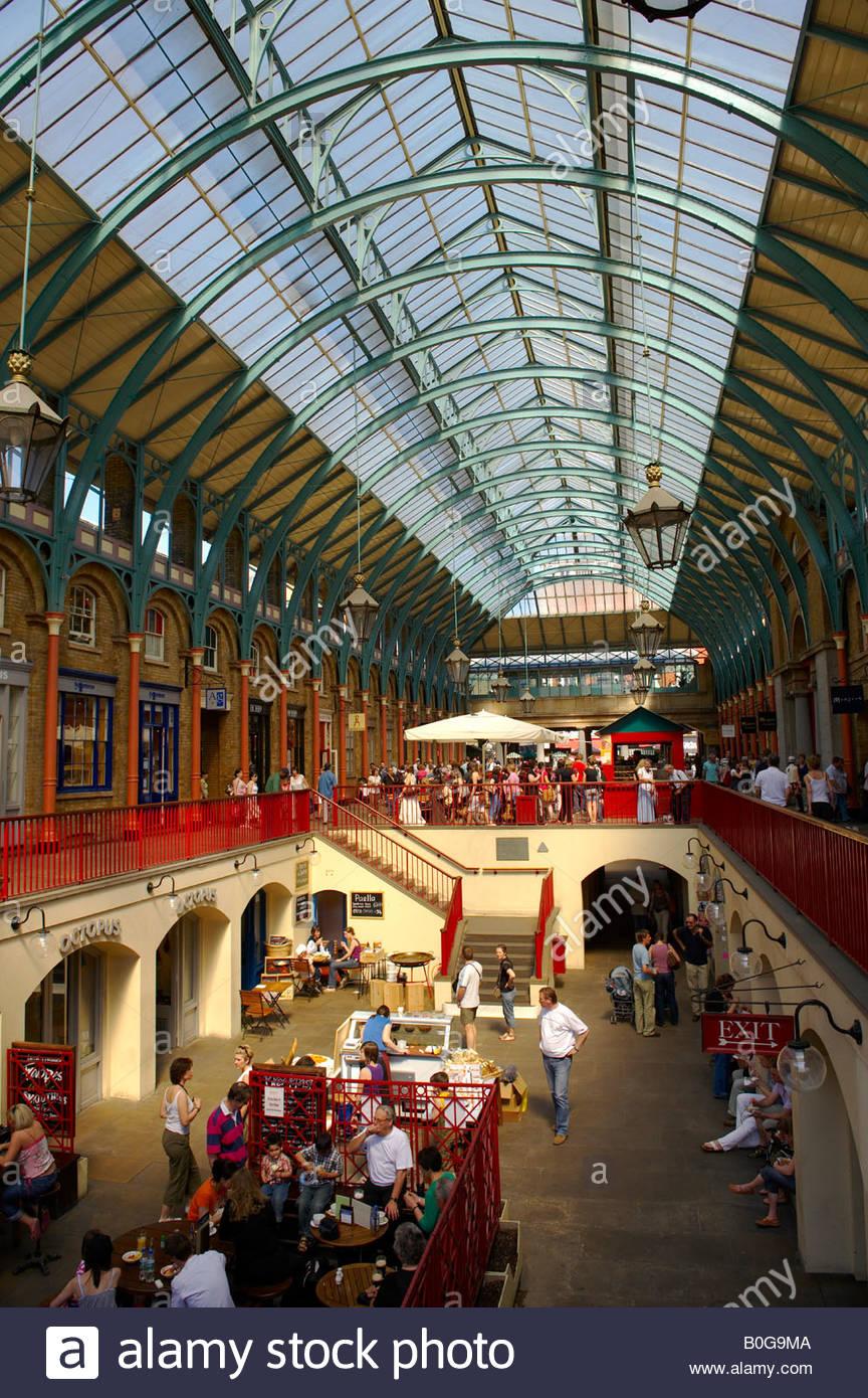 Covent Garden Hall - London Stock Photo: 17569226 - Alamy