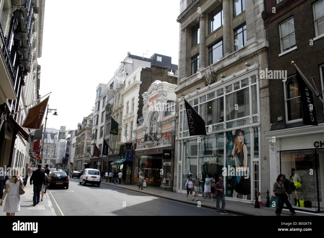 old bond street mayfair london uk 2008 - Stock Image