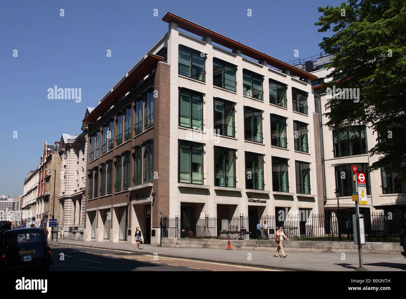Merrill Lynch Financial Centre Building In King Edward