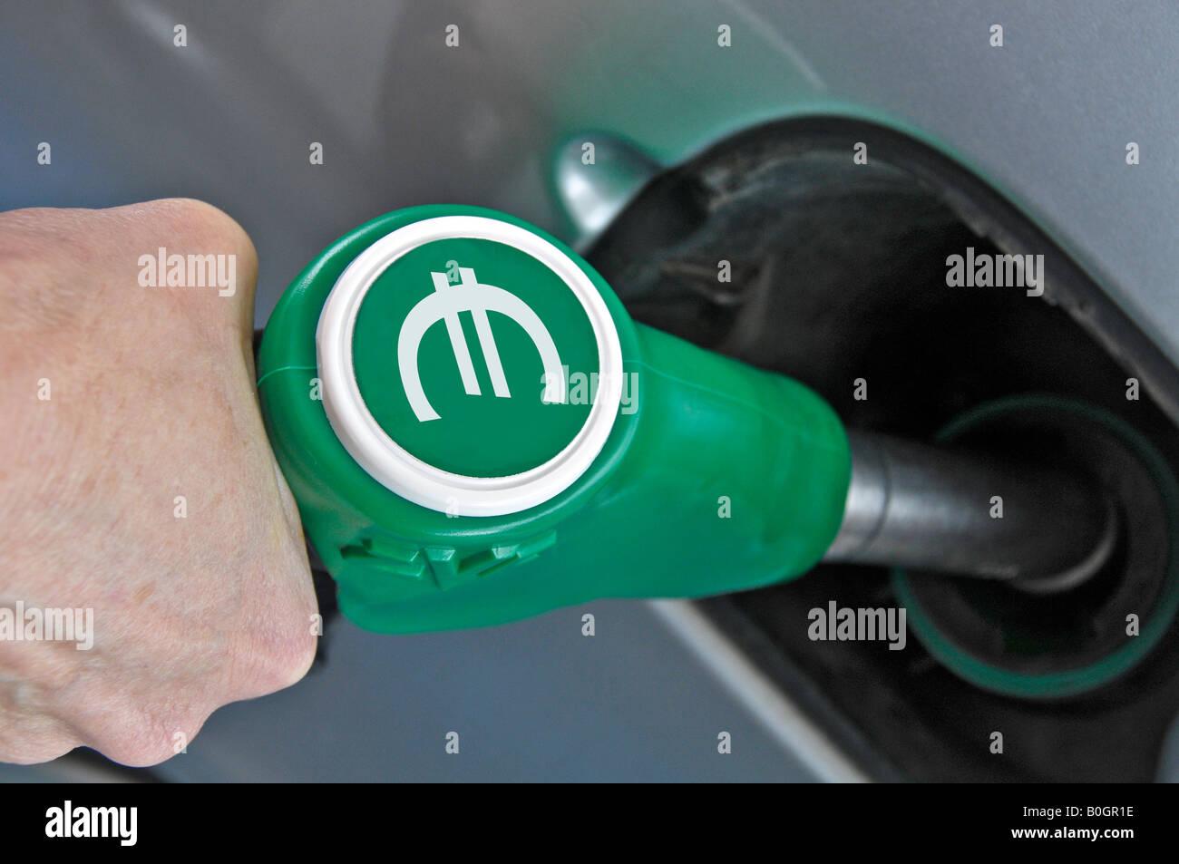 Refuel  car Stock Photo