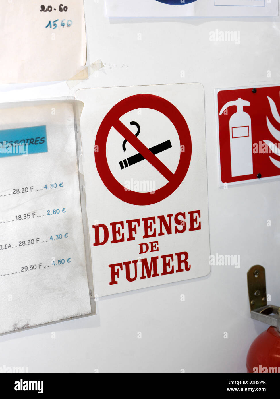 Defense De Fumer Stock Photos Defense De Fumer Stock Images Alamy