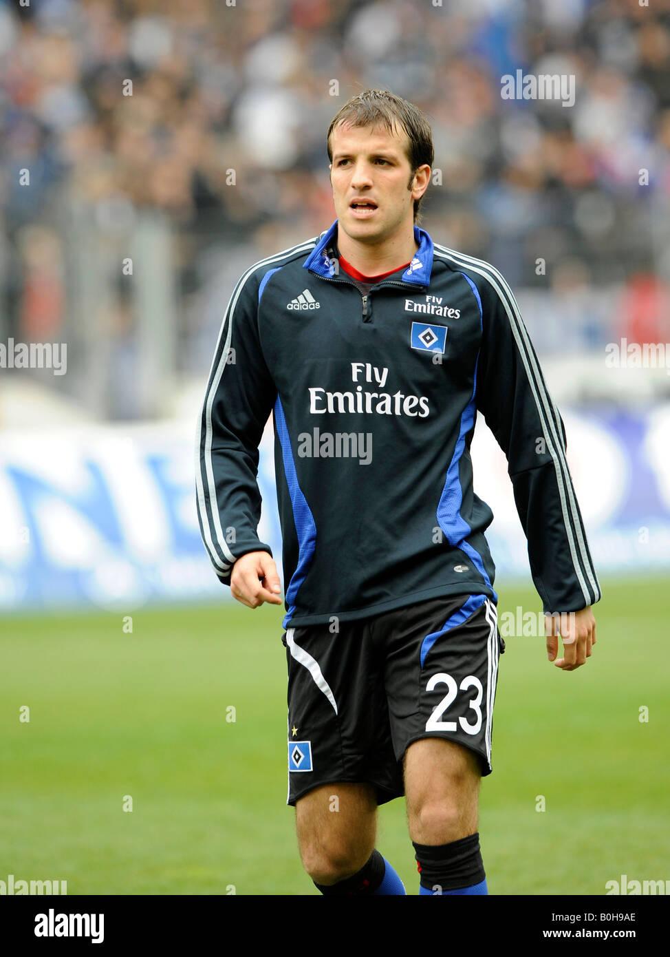 Rafael VAN DER VAART, Hamburger SV footballer - Stock Image