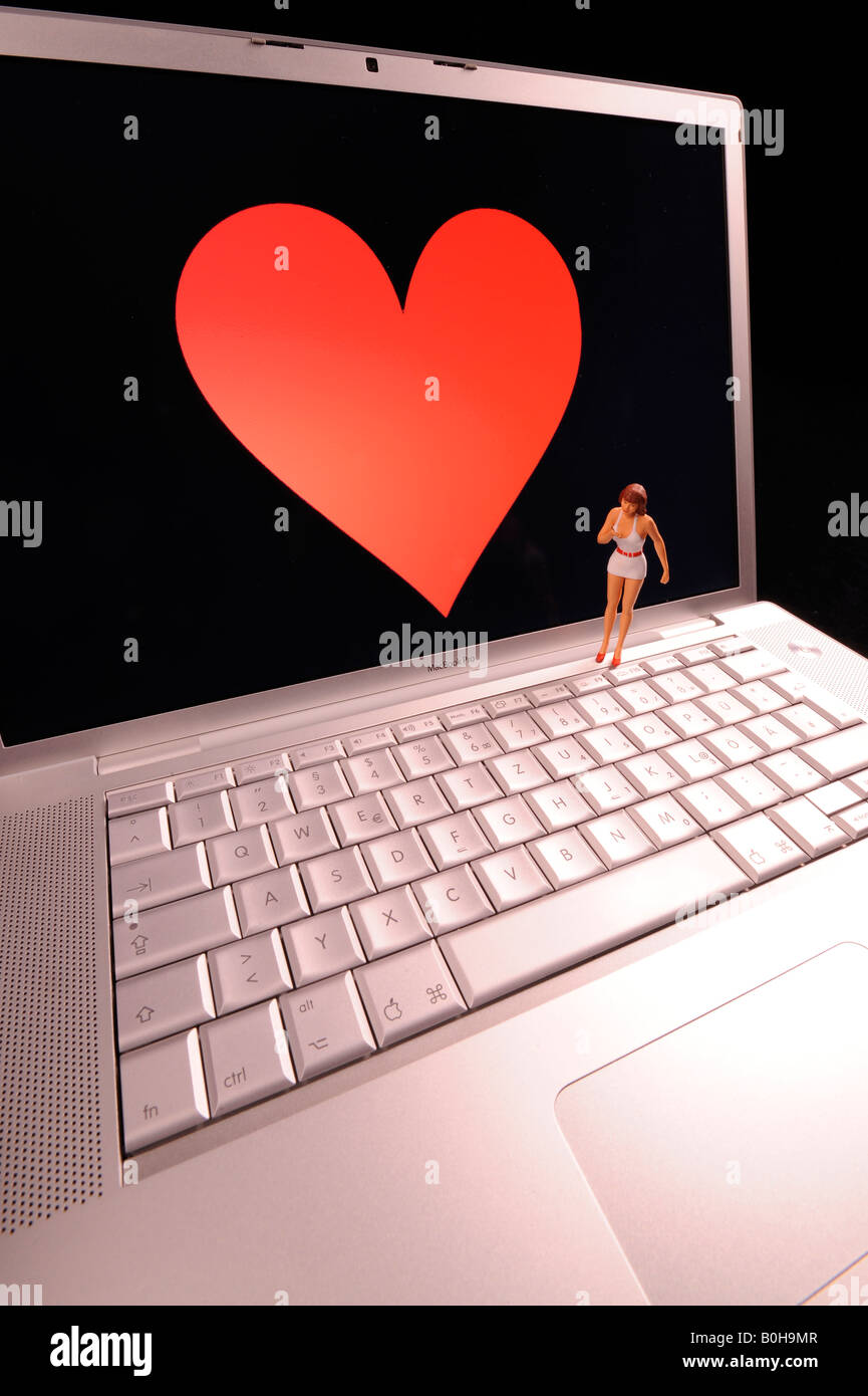 Online dating service - Stock Image