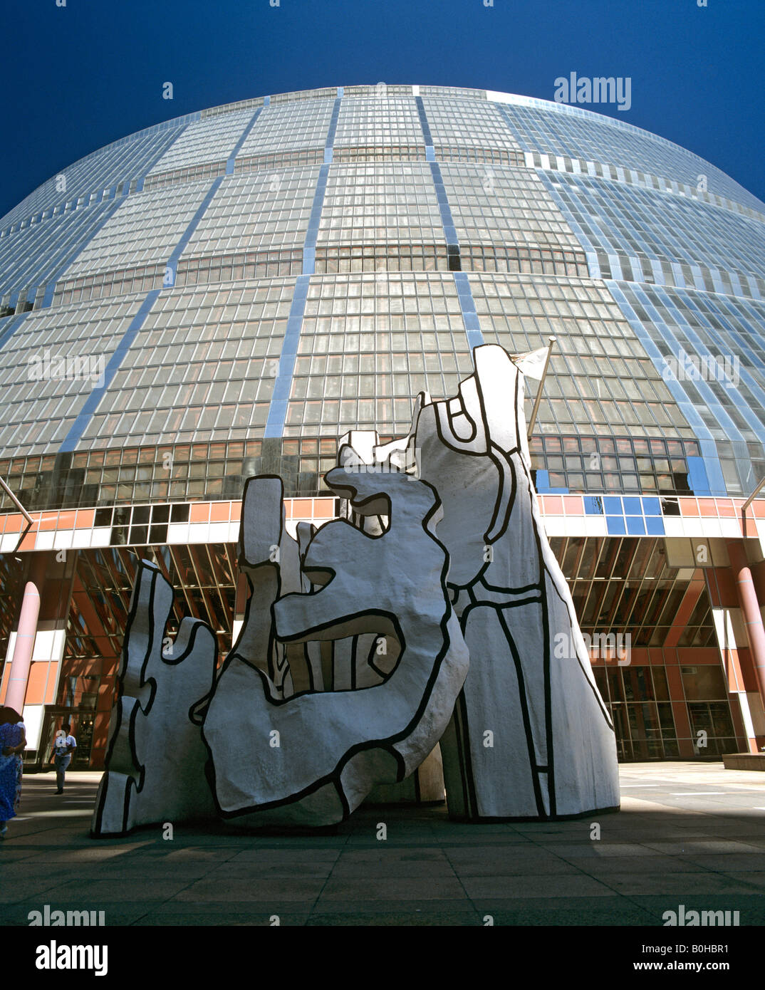 Picasso artwork in Chicago, Illinois, USA - Stock Image