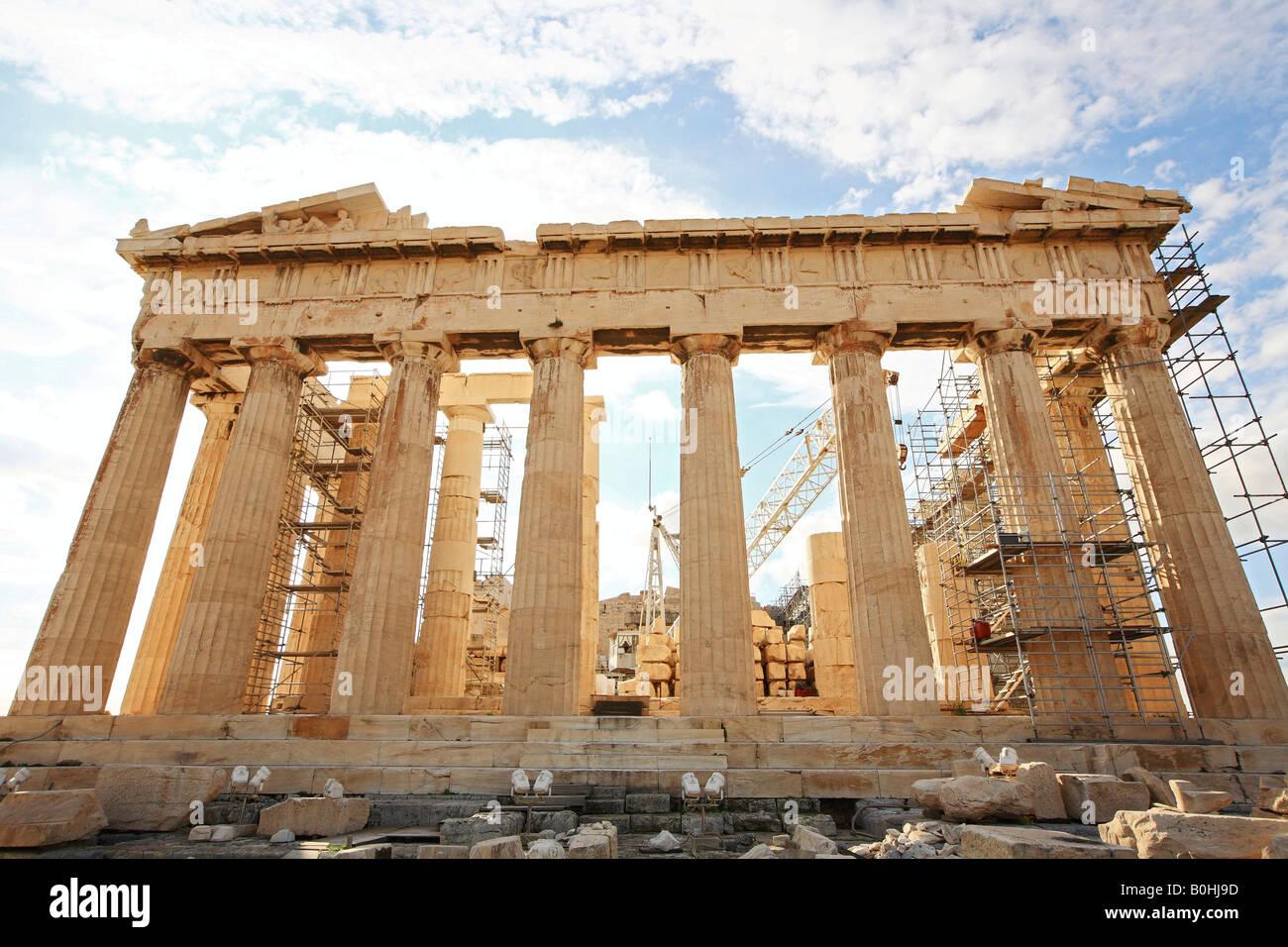 Acropolis, Athens, Greece - Stock Image