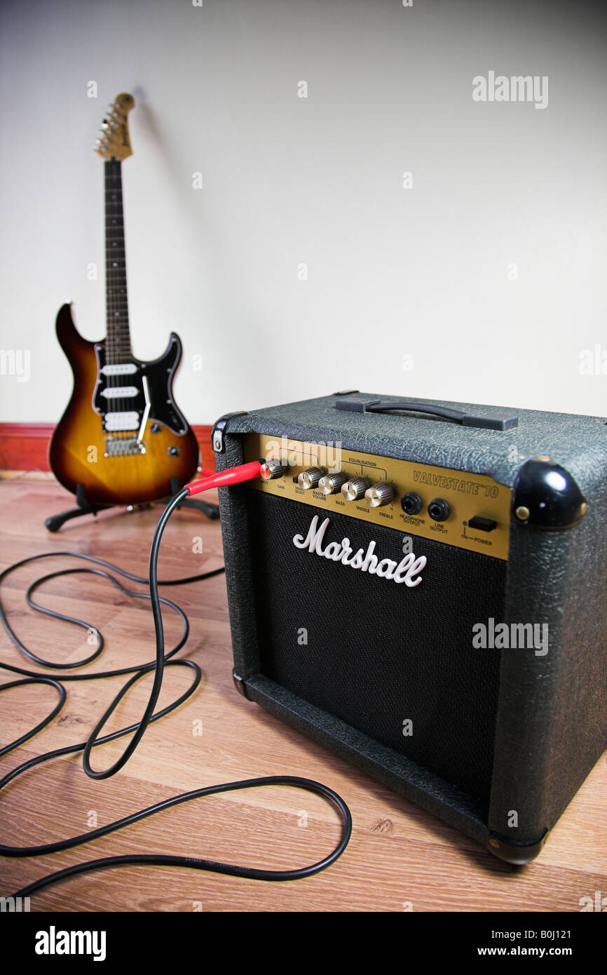 marshall amplifier stock photos marshall amplifier stock images alamy. Black Bedroom Furniture Sets. Home Design Ideas